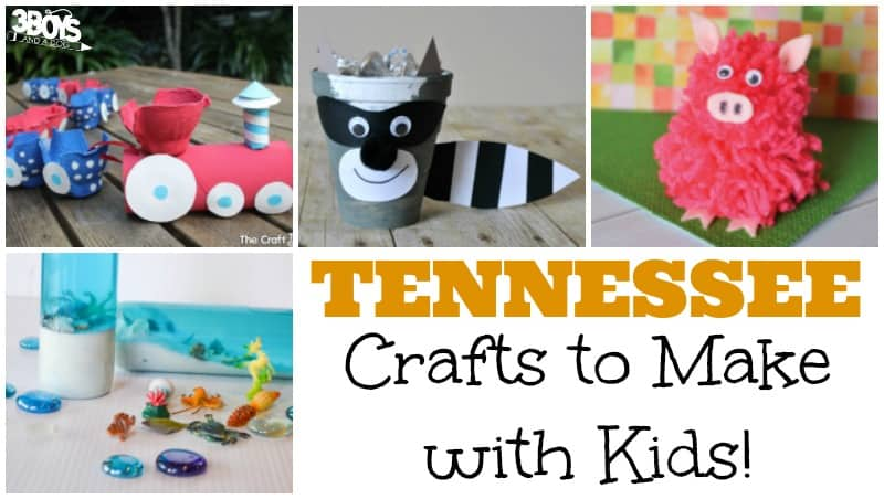 Tennessee Crafts for Kids to Make