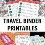 Free Travel Binder Printables for Kids