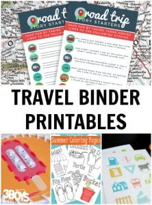 Free Travel Binder Printables for Kids