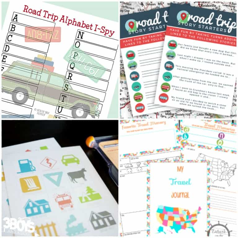 Travel Binder Printables for Road Trips