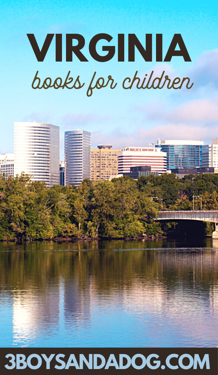 grab some of these Virgina books for kids