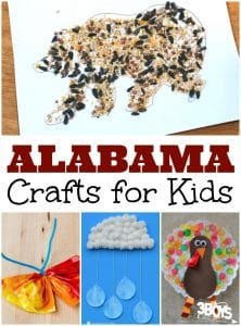 Alabama Crafts for Kids
