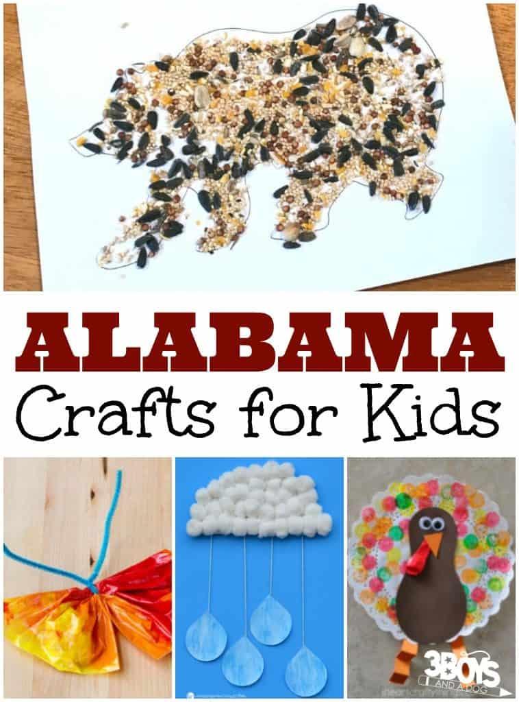Alabama Crafts for Kids