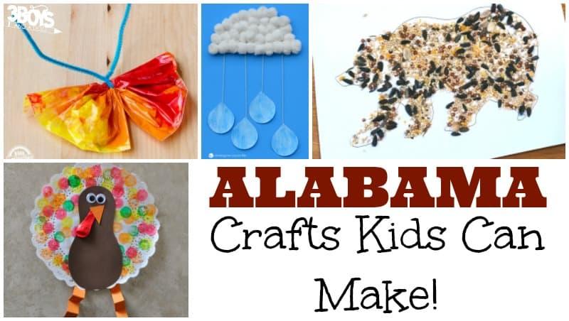 Alabama Crafts for Kids to Make