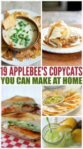 19 Applebee's Copycats You Can Make At Home