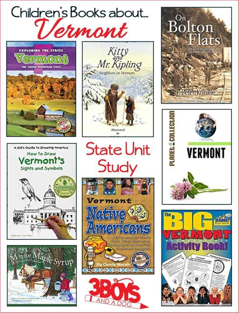 Vermont State Books for Kids