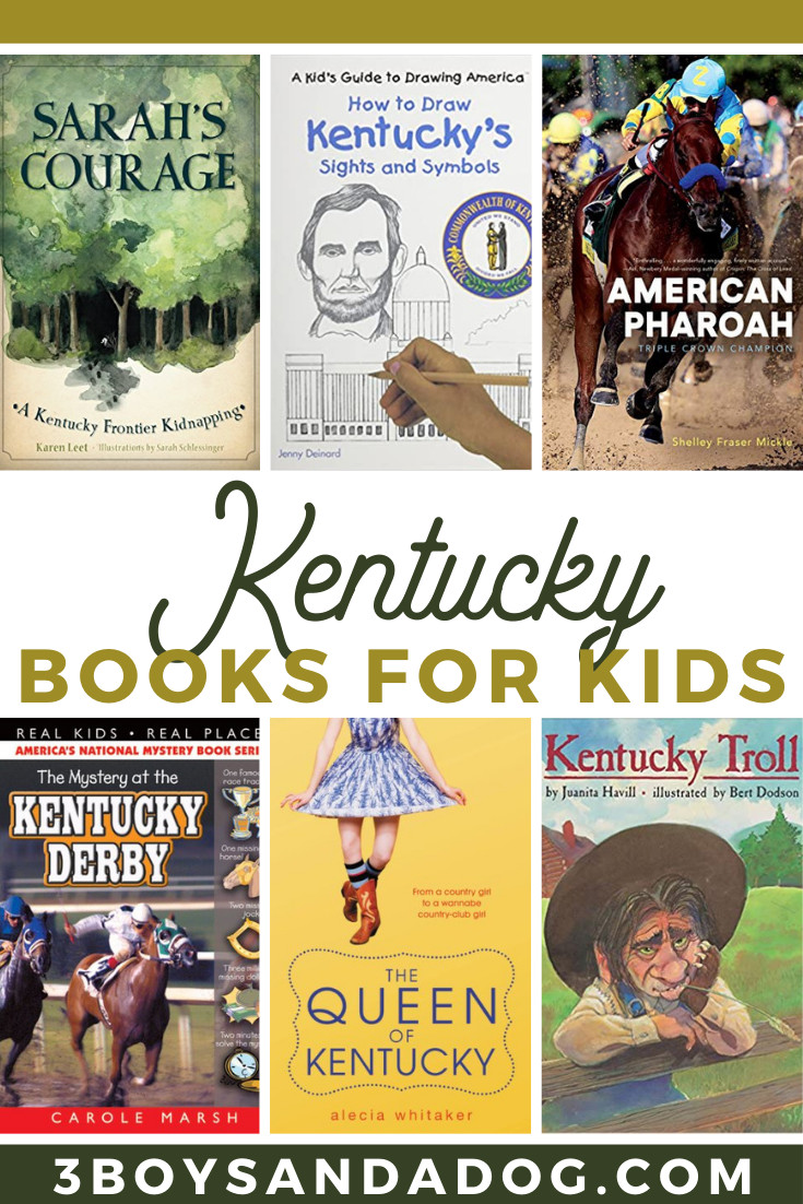 teach your children about the state of Kentucky with these kid friendly books