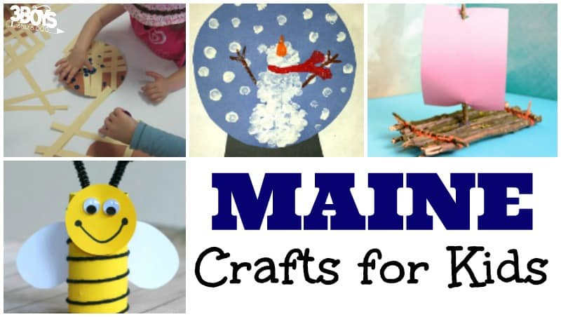 Maine Crafts for Kids to Make