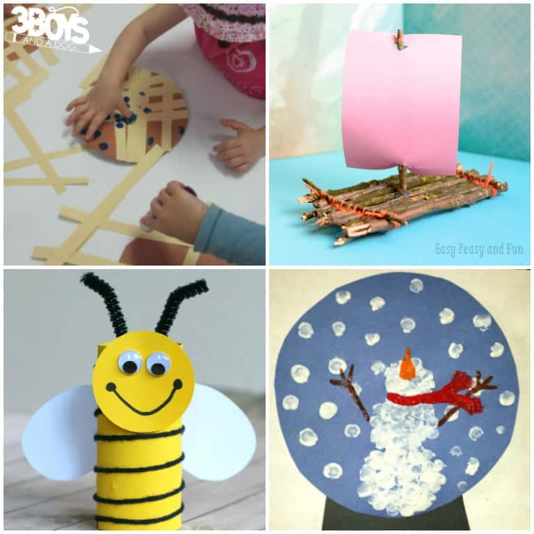 Maine Crafts for Kids to Try