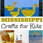 Mississippi Crafts for Kids