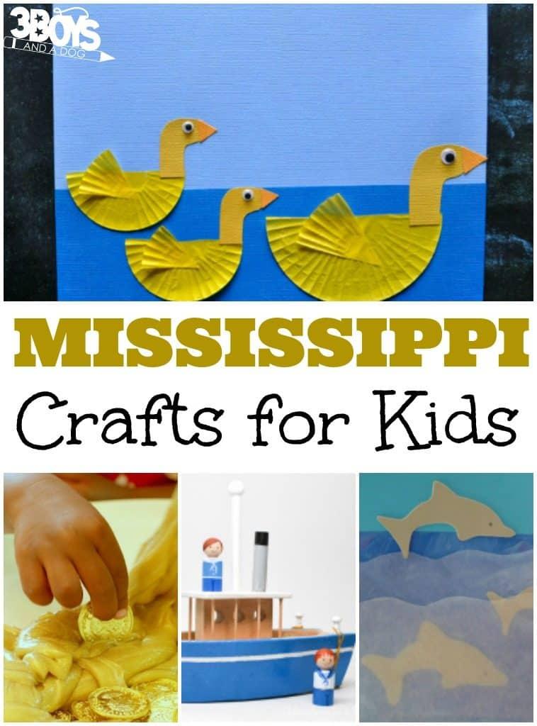 Mississippi Crafts for Kids