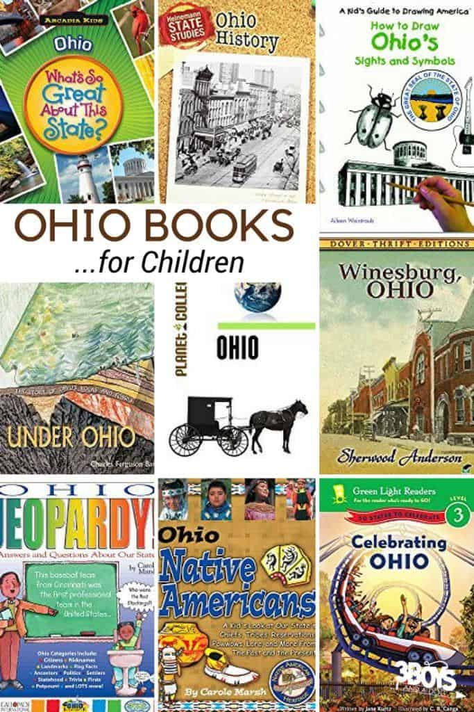 These Ohio State Books for Kids are sure to please and fascinate your children as they learn all about the state of Oh