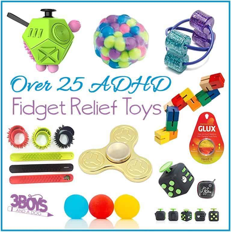 Over 25 ADHD Fidget Relief Toys