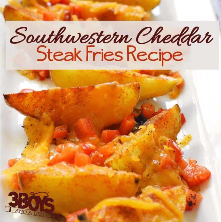 Southwestern Oven Steak Fries
