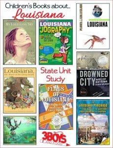 Louisiana State Books for Kids