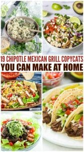 19 Chipotle Mexican Grill Copycats You Can Make At Home