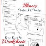 Illinois State Fact File Worksheets