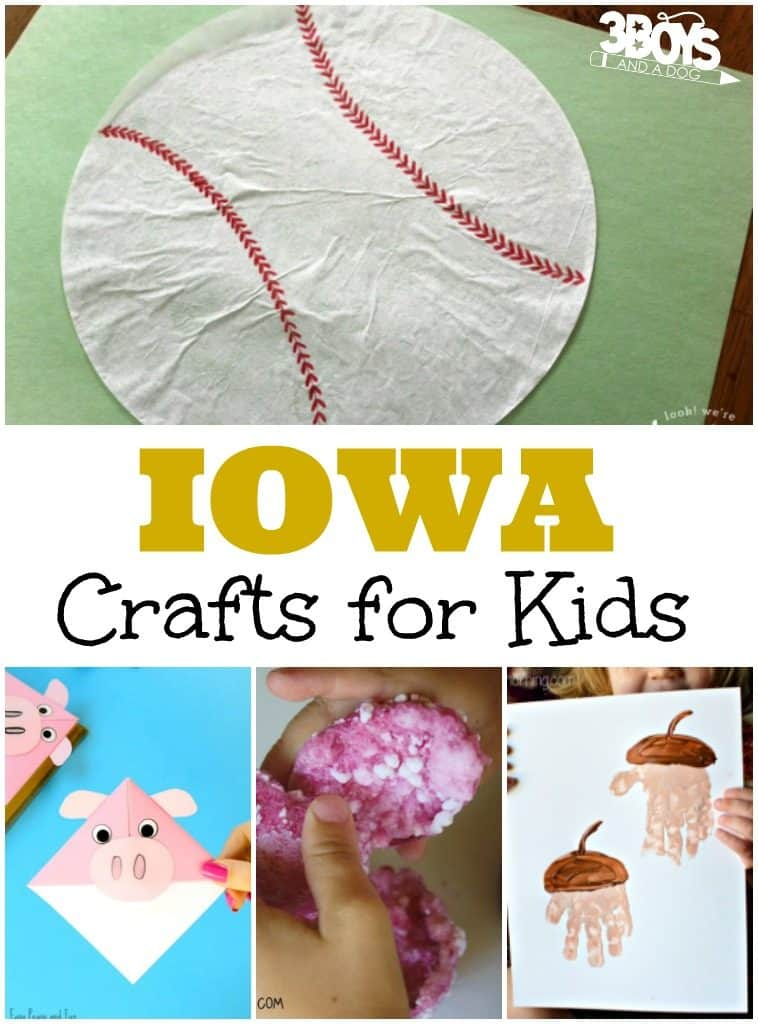 Iowa Crafts for Kids