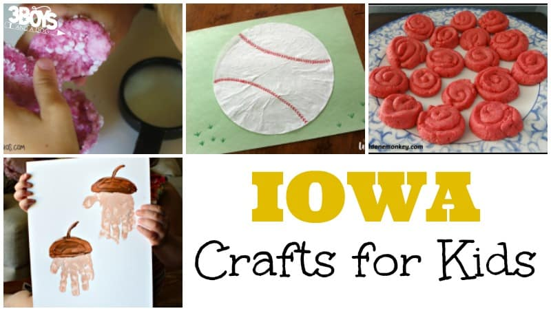 Iowa Crafts for Kids to Make