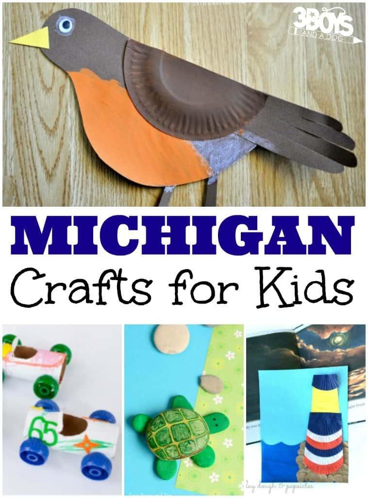 Michigan Crafts for Kids