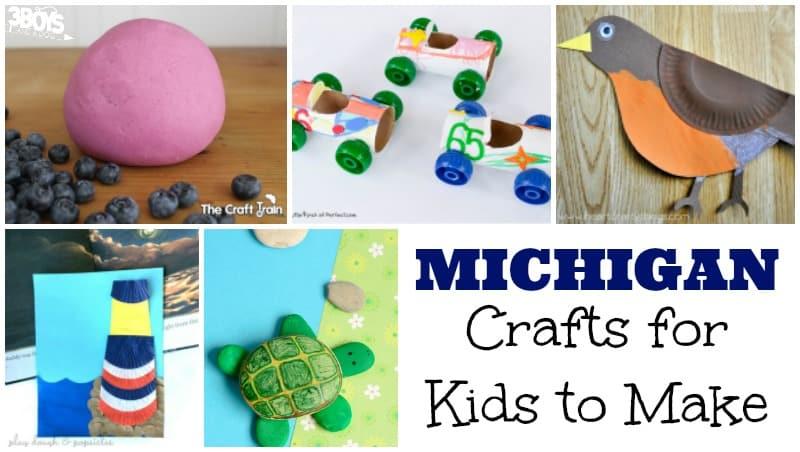 Michigan State Crafts for Kids