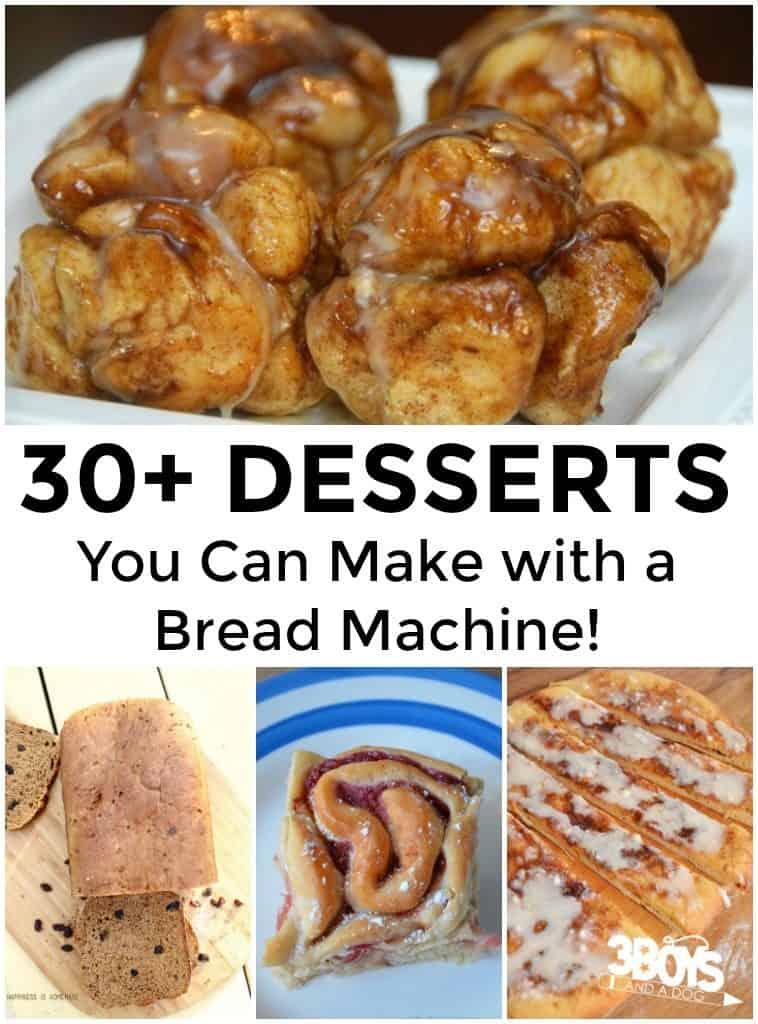 Bread Machine Desserts