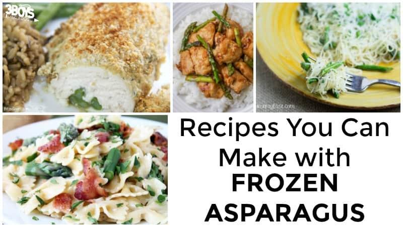 Frozen Asparagus Recipes to Make