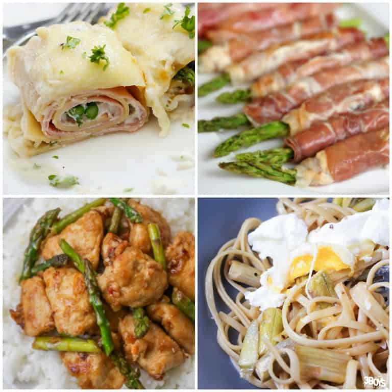Frozen Asparagus Recipes to Try