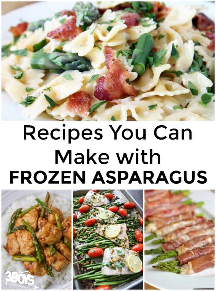 Frozen Asparagus Recipes