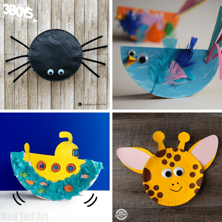 Fun Paper Plate Crafts for Preschoolers