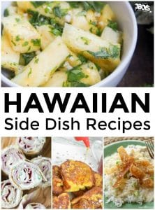Hawaiian Side Dish Recipes