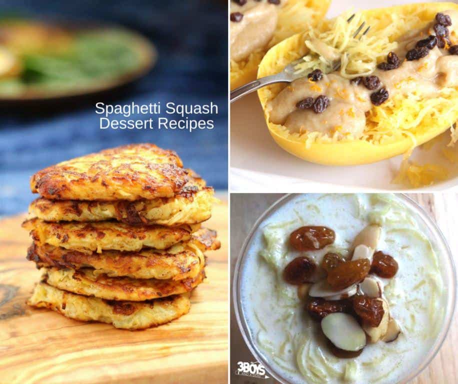 Healthy Spaghetti Squash Dessert Recipes