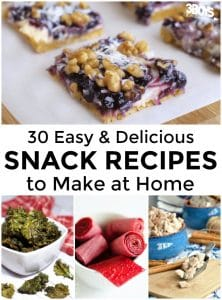 Homemade Snack Recipes