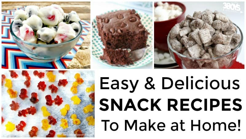Homemade Snack Recipes to Try