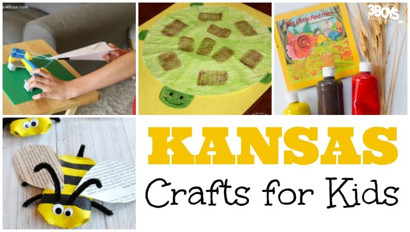 Kansas Crafts for Kids to Make
