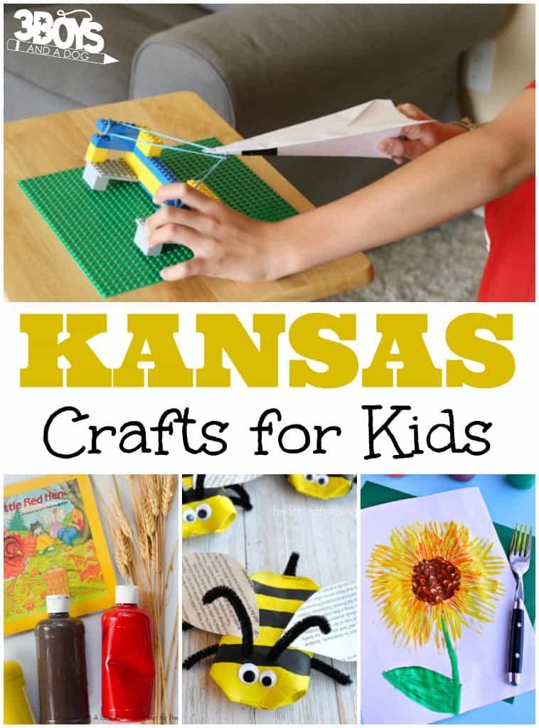 Kansas Crafts for Kids