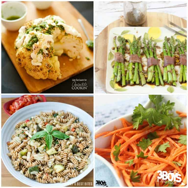 Low Calorie Side Dishes to Cook with Chicken