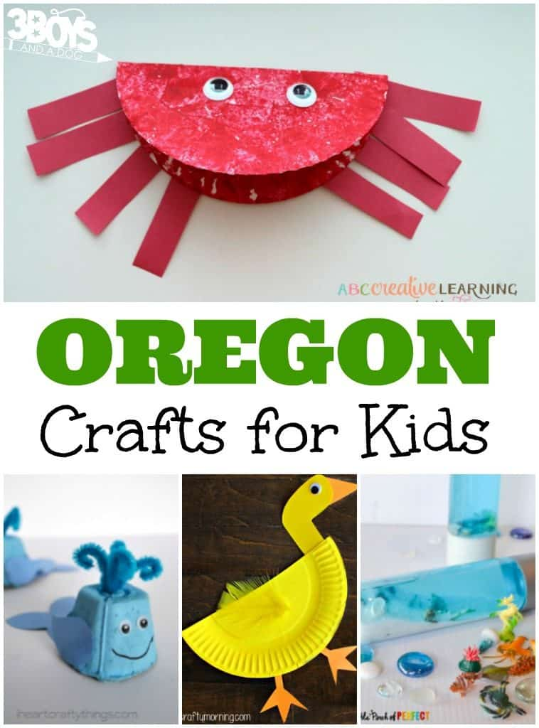 Oregon Crafts for Kids