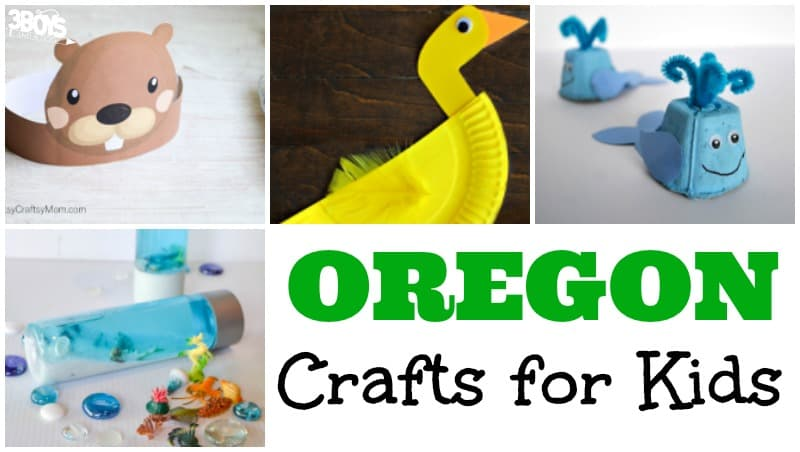 Oregon Crafts for Kids to Try