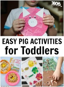 Easy Pig Activities for Toddlers