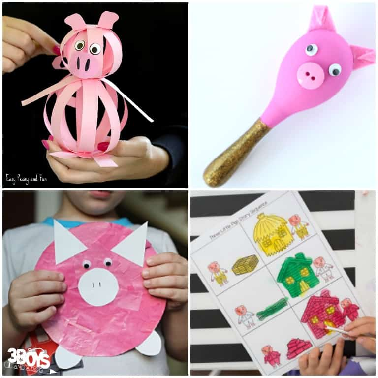 Pig Activities for Toddlers to Try