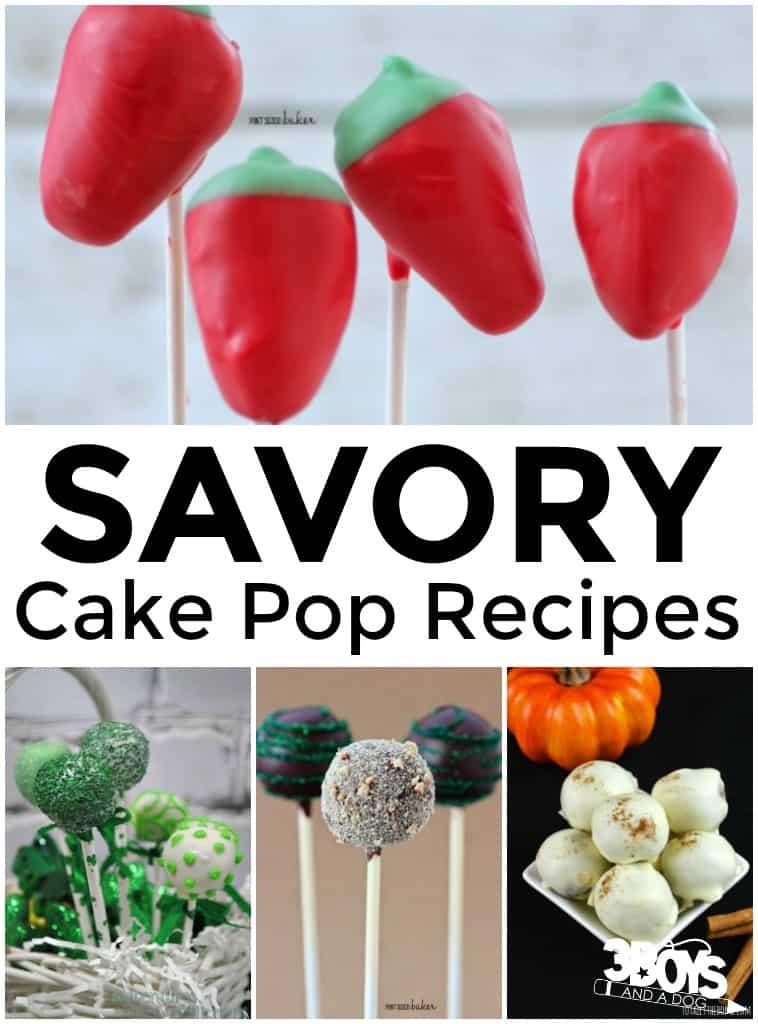 Savory Cake Pop Recipes