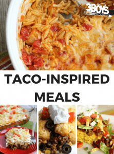 Over 30 Taco Inspired Meals