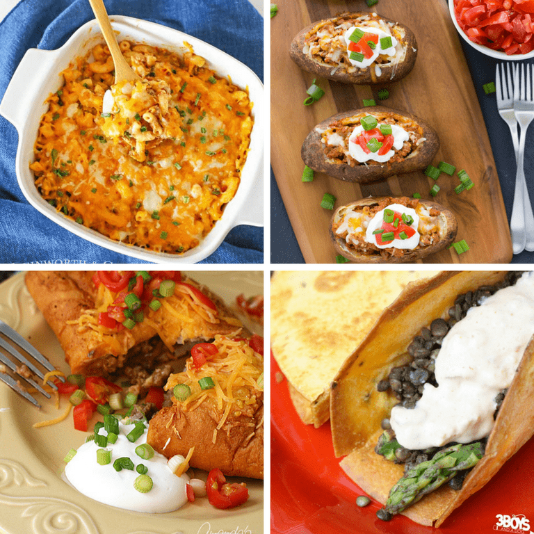 Taco Inspired Meals and Recipes