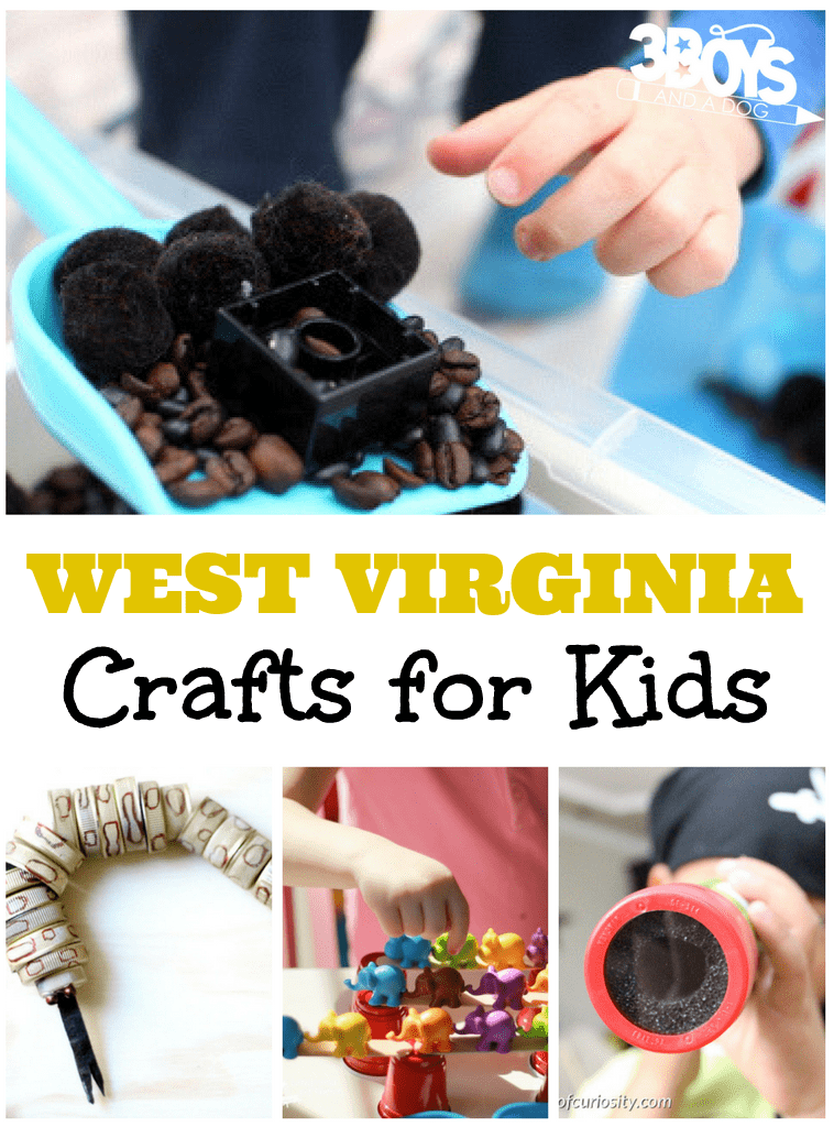 West Virginia Crafts for Kids