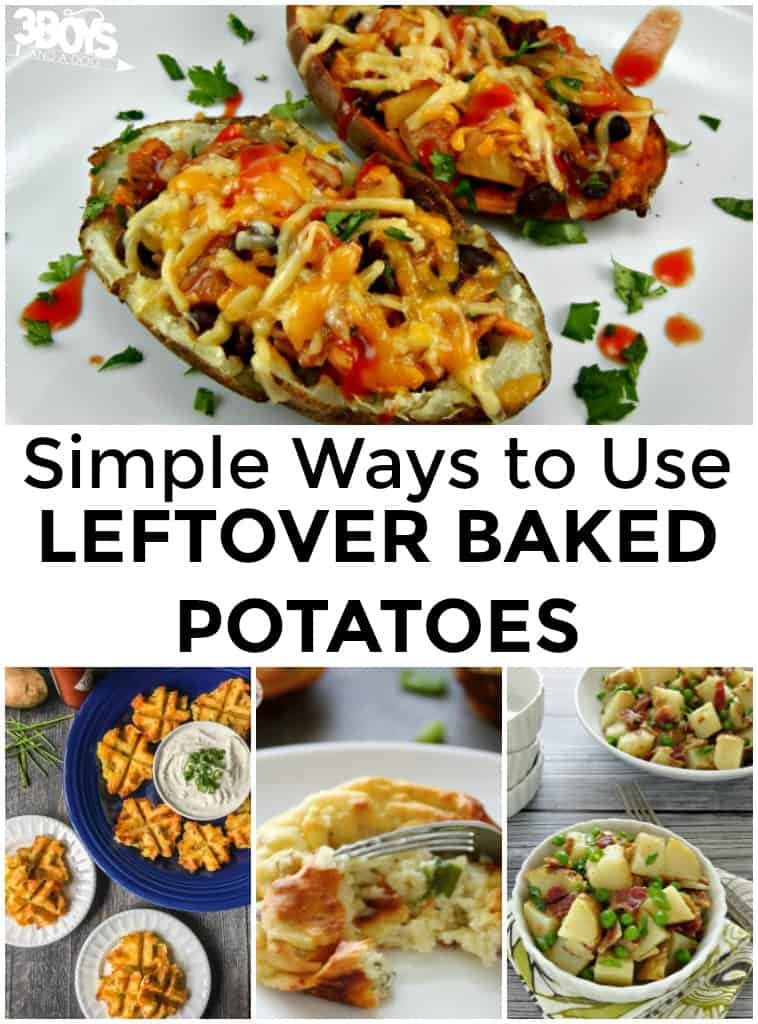 What to Do With Leftover Baked Potatoes