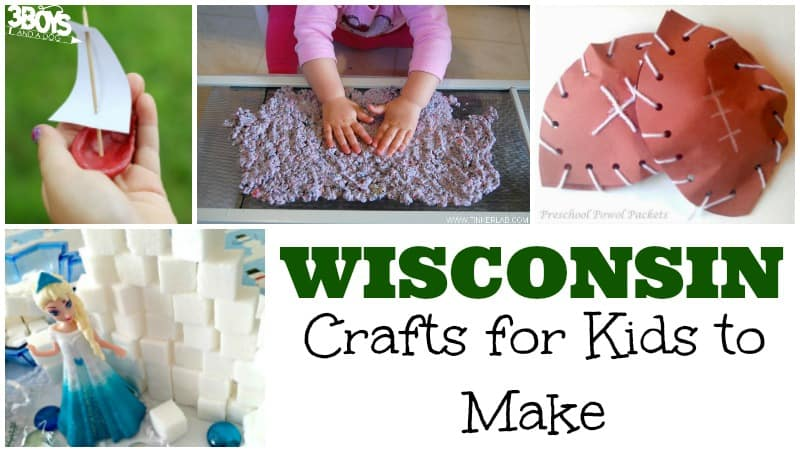 Wisconsin Crafts for Kids to Make