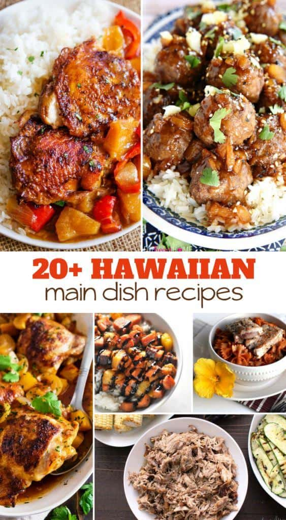 bring hawaii home with these main dish recipes