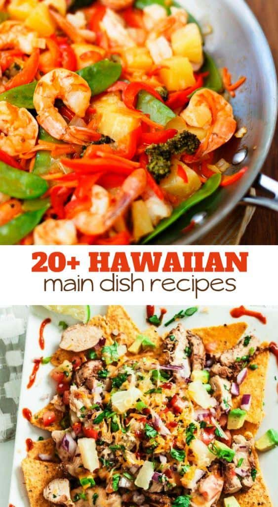 main dish recipes with the flavor of Hawaii