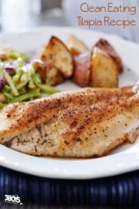 Keep It Clean Tilapia Recipe